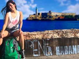 Irene en la Habana